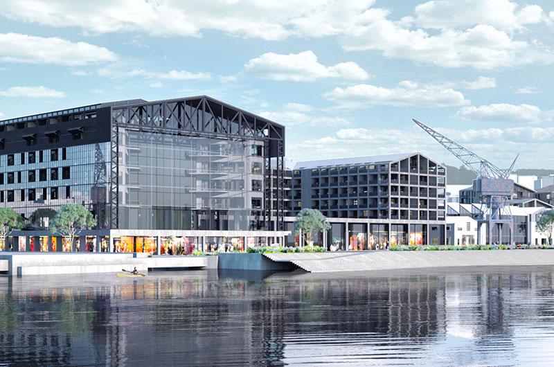 Future Project Leisure Led Development: Tabanlioglu Architects - Tersane Halic - Halic Shipyards, Istanbul, Turkey