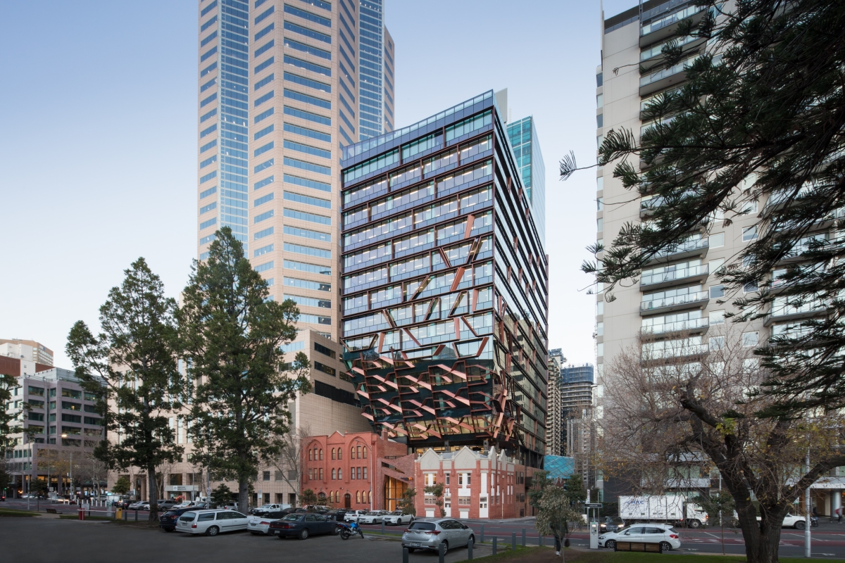 Probuild recently completed 271 Spring Street for repeat client ISPT and anchor tenant Australian Unity