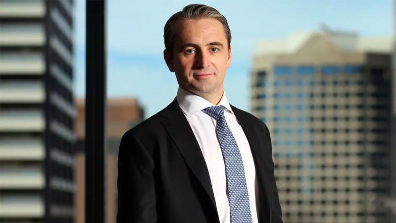 ▲ Commonwealth Bank chief executive Matt Comyn said the property market had been more robust than expected.