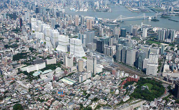 Tokyo rail yards