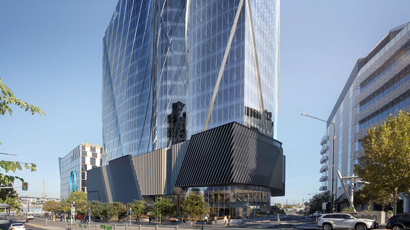 ▲ Poly Global is seeking capital partners for its Sydney Cirucular Quay project and Melbourne commercial tower in Docklands (pictured).