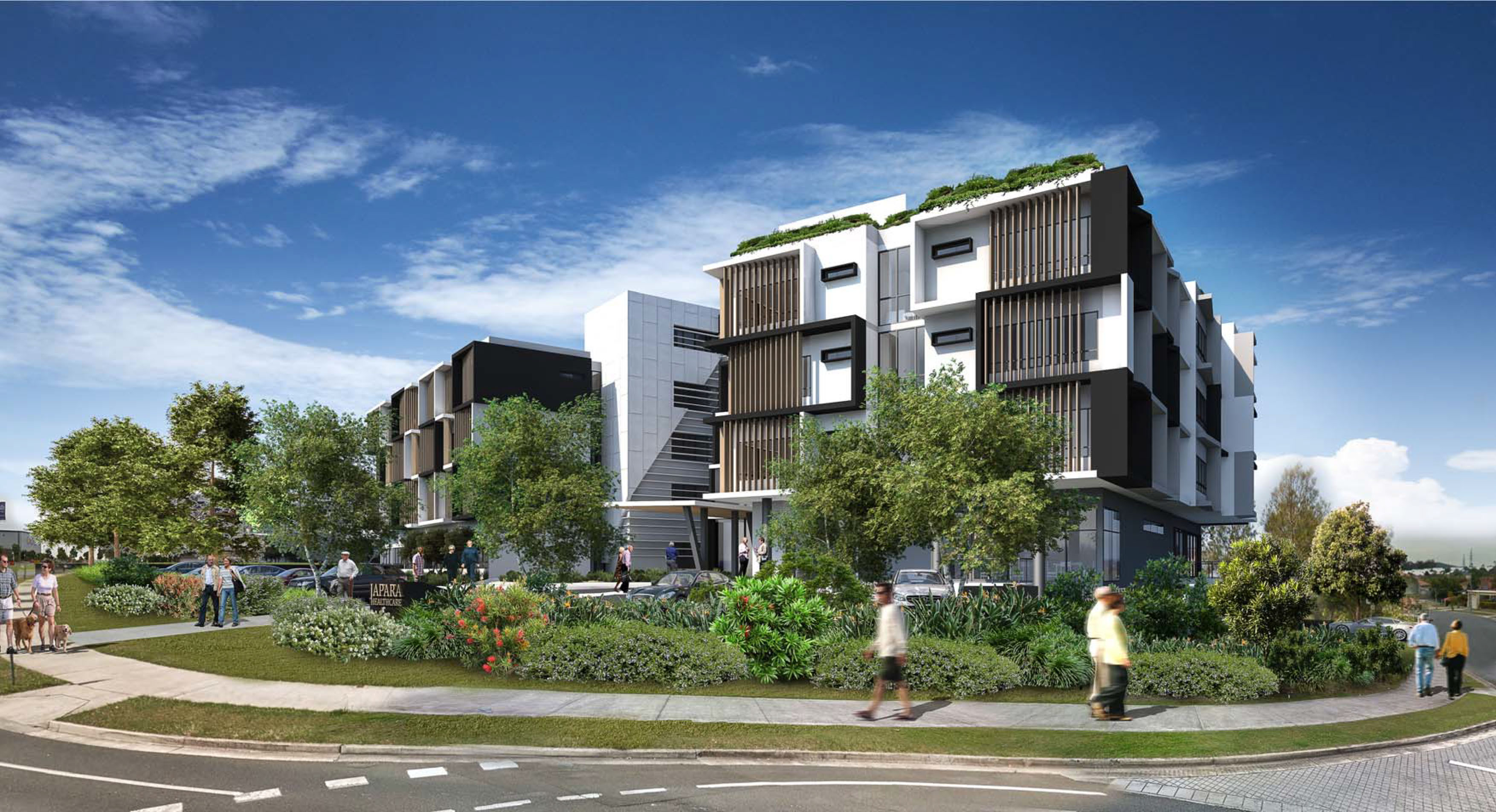 Aged care provider Japara is developing a $30 million six-storey facility on the Gold Coast.