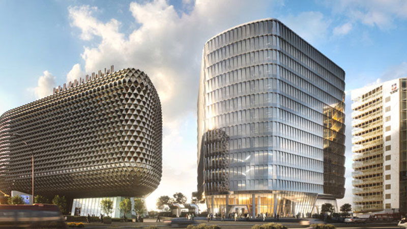 ▲ Commercial & General is behind The Australian Bragg Centre – a $500 million cancer centre, to be home to the first proton therapy unit in Australia.