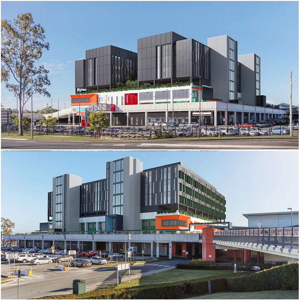 ▲ Plans for Logan Hospital's expansion.