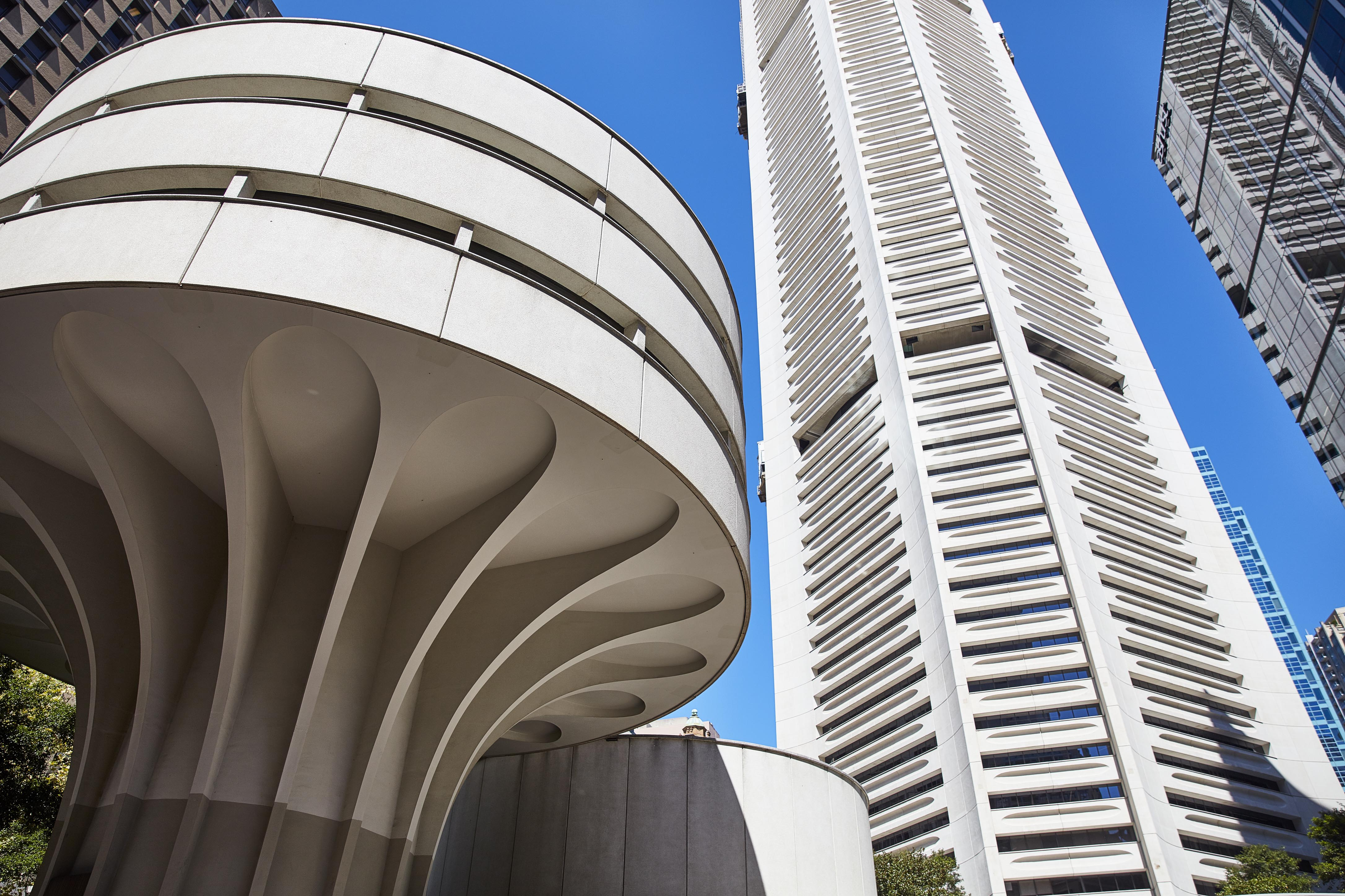 The MLC Centre is one of Harry Seidler's most well-known buildings.