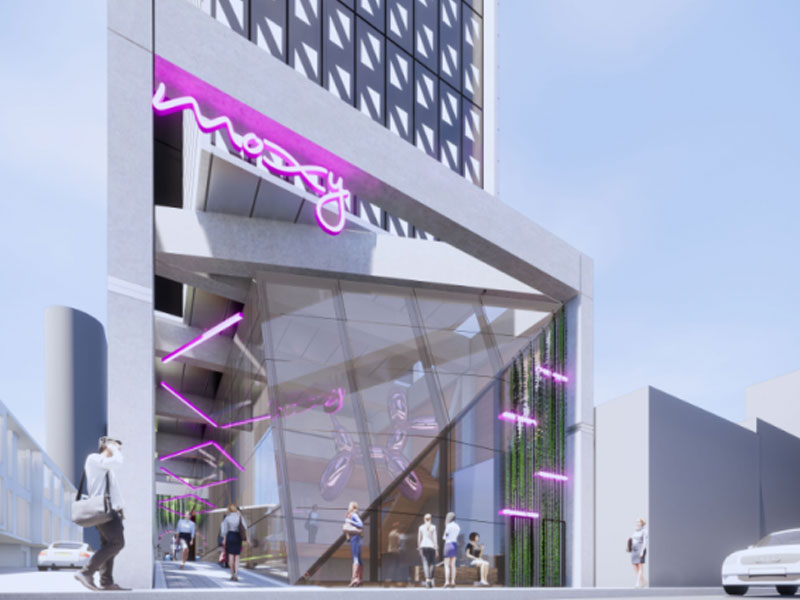 Moxy Hotels is set to debut in Australia with the signing of Moxy Melbourne South Yarra, a 180-room, new build standalone hotel slated to open in July 2021.