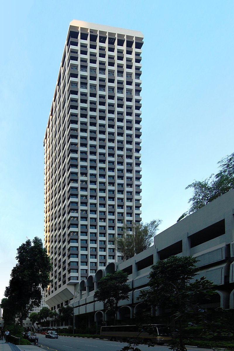The 54-storey UIC Building was completed in 1974.