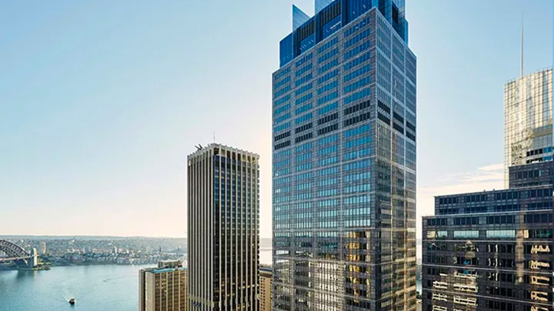 ▲ Earlier this month GPT Group offloaded its 25 per cent share in Sydney's 1 Farrer Place to Lendlease for $584.6 million.