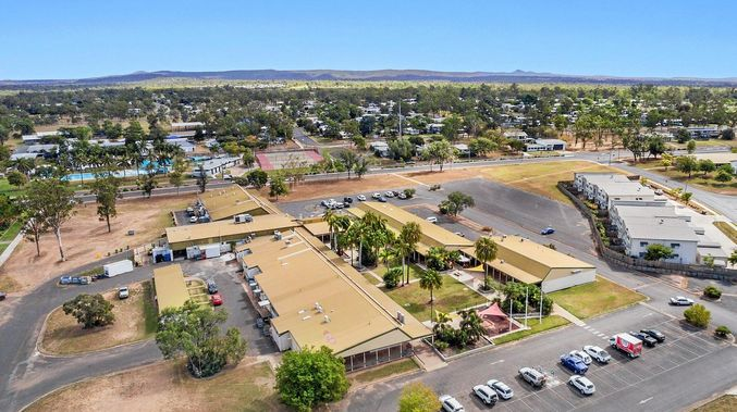 Dysart, 1000km northwest of Brisbane.
