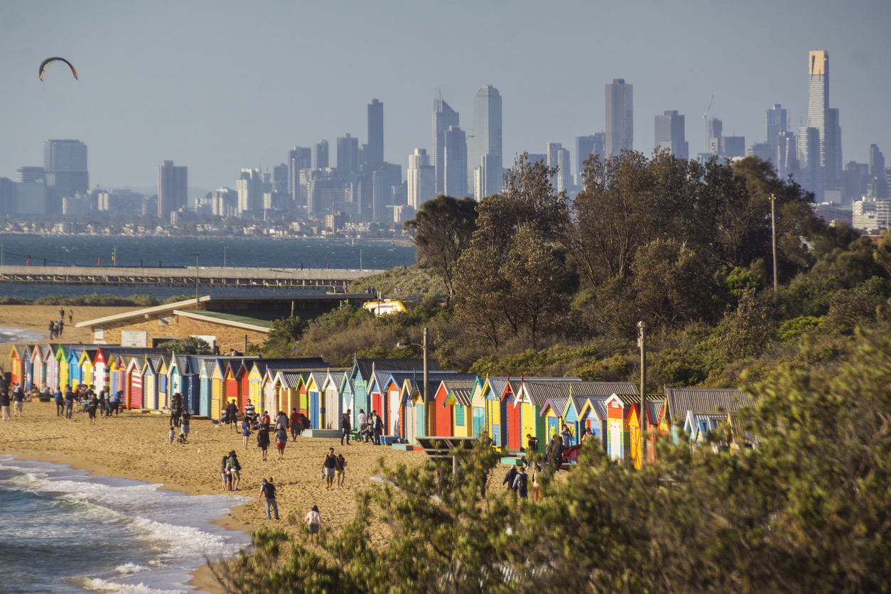 Melbourne suburb Brighton has a median unit value of $1.02 million.
