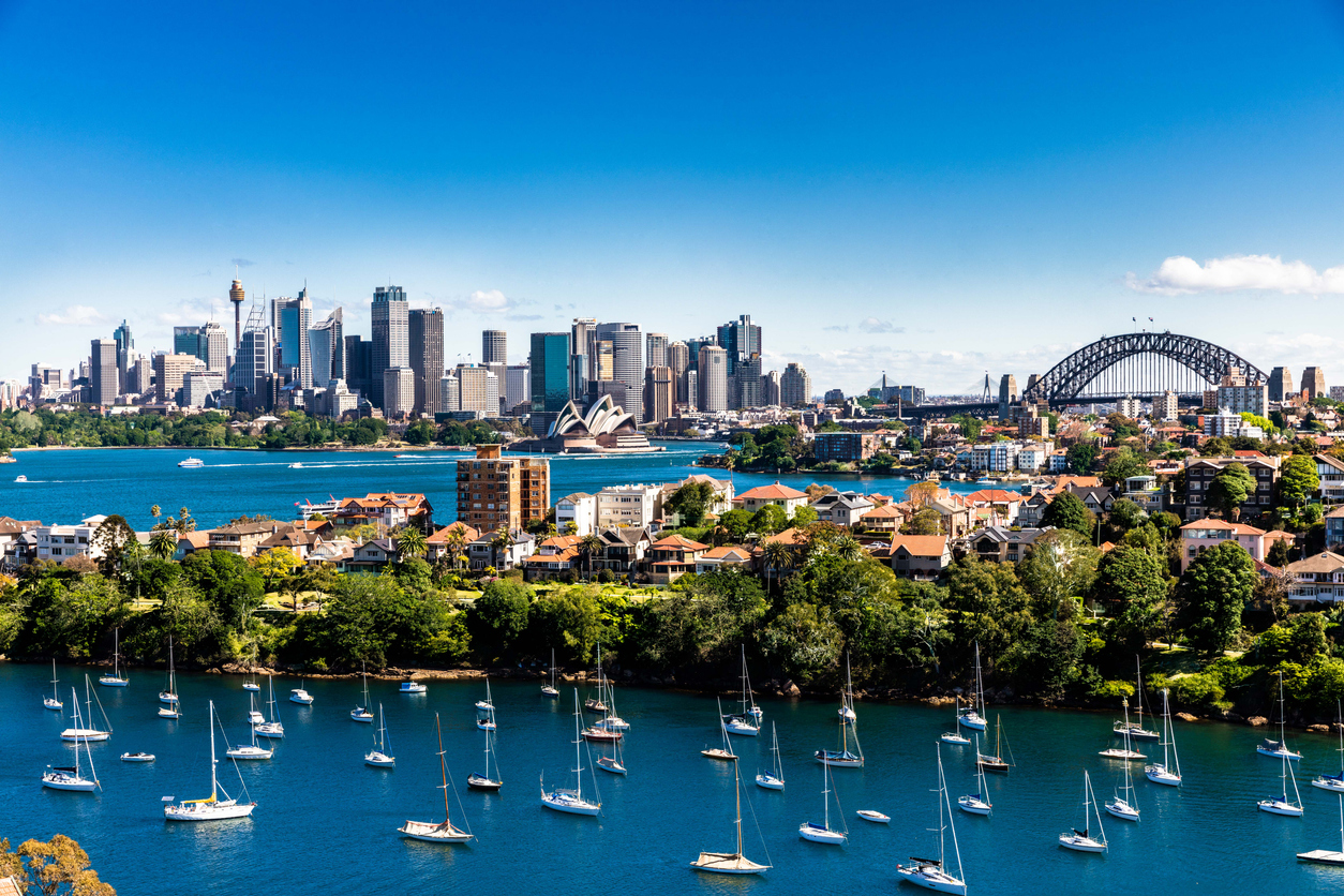 Sydney ranked third in investment and third in development.