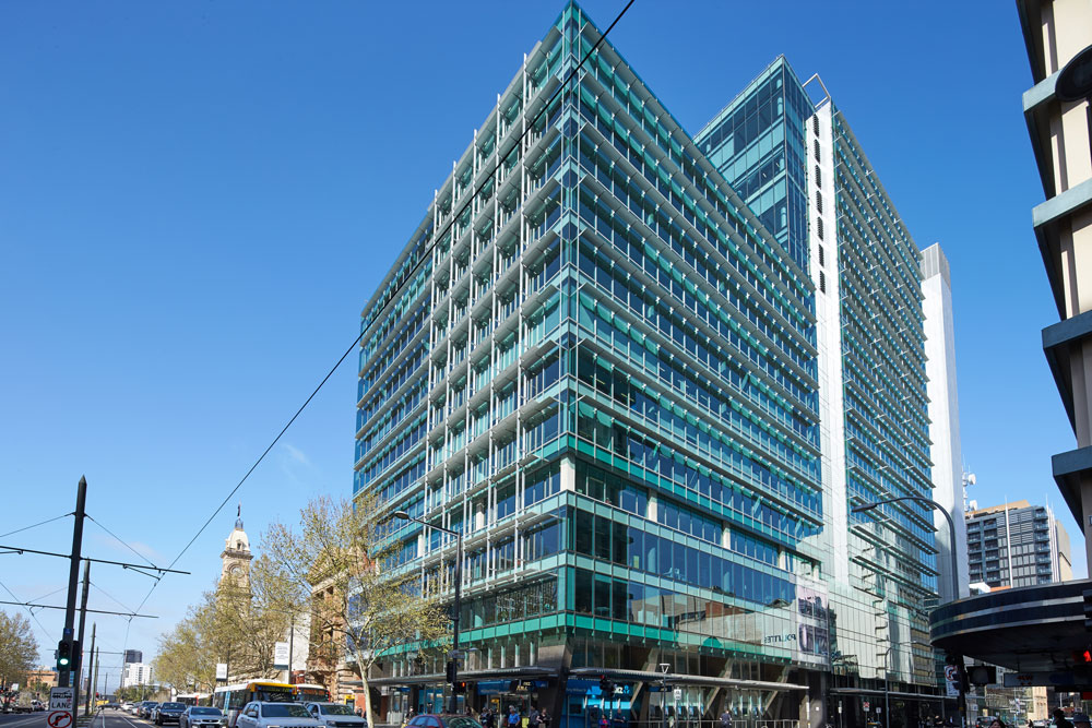 Charter Hall's Docklands acquisition follows the purchase of 121 King William Street in Adelaide.