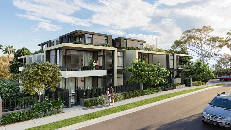 ▲ Development application approved for 4 Stuart Crescent, Drummoyne.