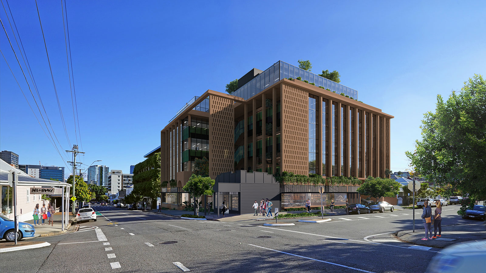 73 James Street Fortitude Valley Cavill Architects Zagame