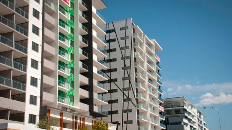 ▲ Prices have stabilised in Brisbane's beleaguered high-rise apartment market and a shortage of new supply will drive growth in the next six to 12 months Urbis says.