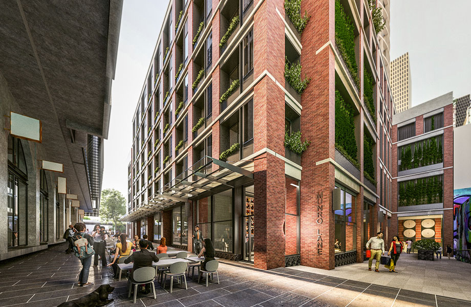 Backlane view: Veriu will operate a new 111-room hotel at Queen Victoria Market.