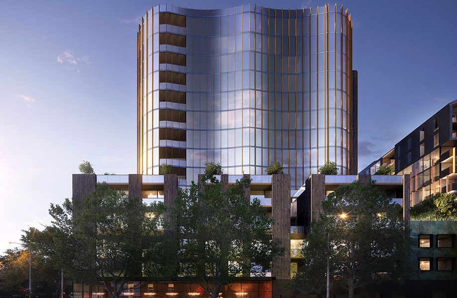 The Adderley, planned for 185 Rosslyn Street West Melbourne.