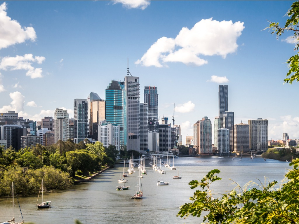 More affordable than Sydney and Melbourne, Brisbane is still 22nd on the list of the world's most expensive cities in which to build.