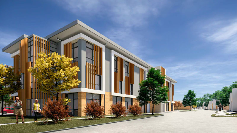 ▲ Ryman's Geelong development will include 56 villas for independent living, 53 serviced apartments and 120 care beds.