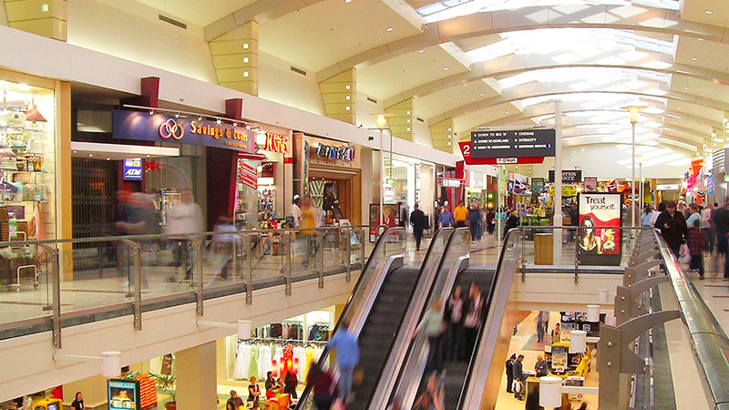 ▲ The shopping centre's performance is underpinned by the dominant nature of the centre, given it is the 13th largest centre in Australia by moving annual turnover.