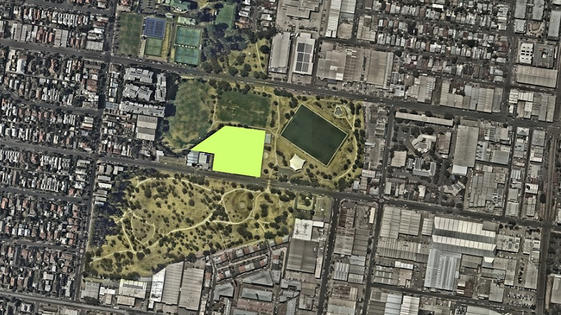 ▲ The site slated for Mirvac and Milieu build-to-rent development in Brunswick, Melbourne.