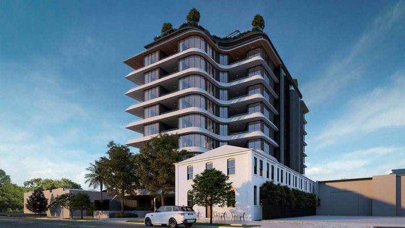 ▲ Limitless Development's Newstead project, 'Federal Residences' has also secured planning approval.