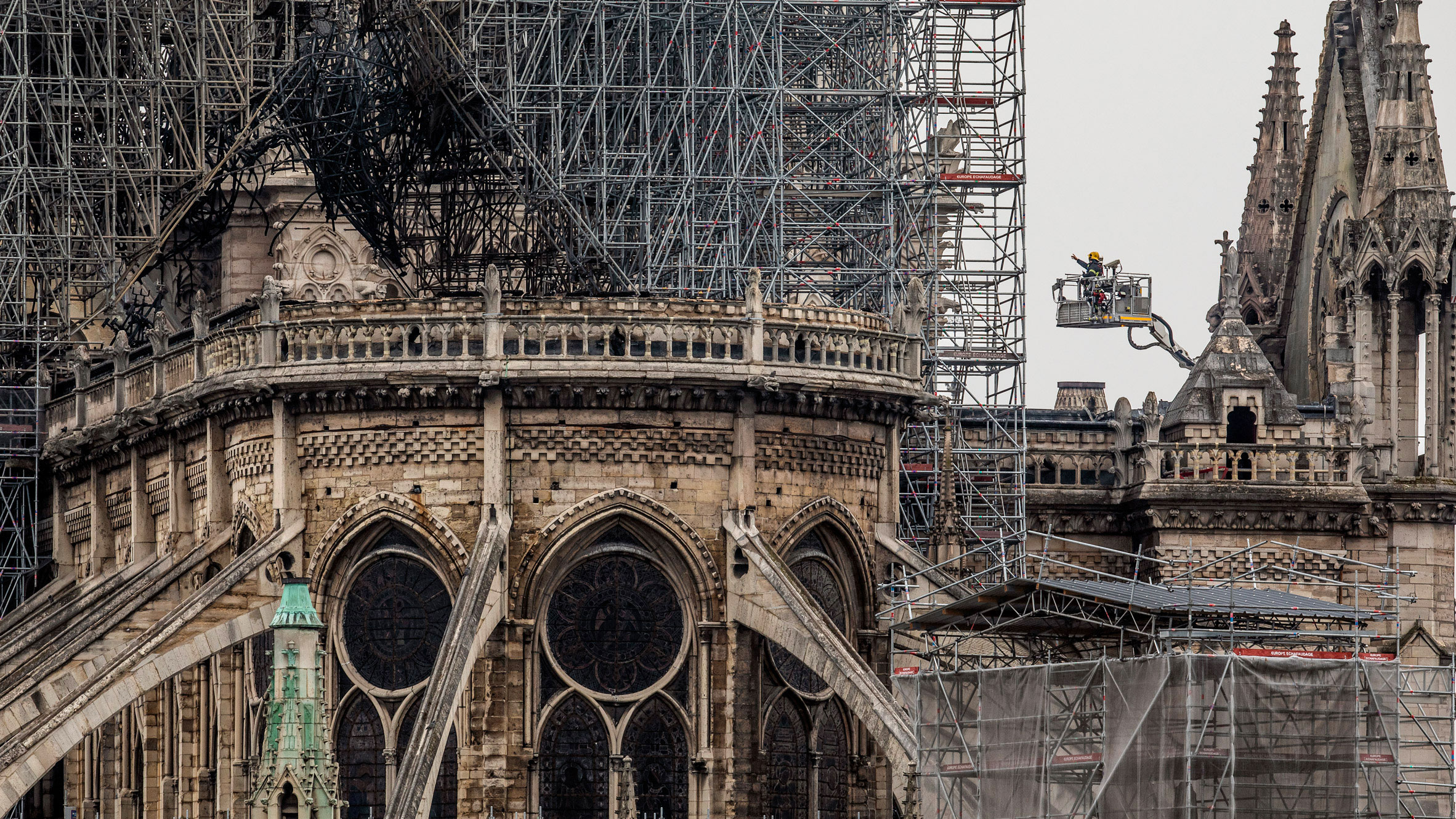 After Notre-Dame suffered a serious fire last month, President Macron made a televised address promising to restore the cathedral in just five years.