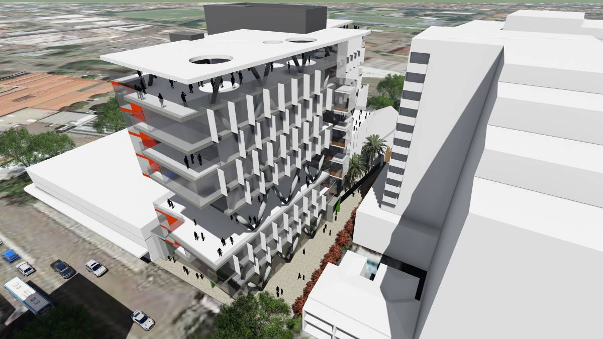 Is this the future of our schools? The 12 storey high rise planned for Newcastle's WestEnd.