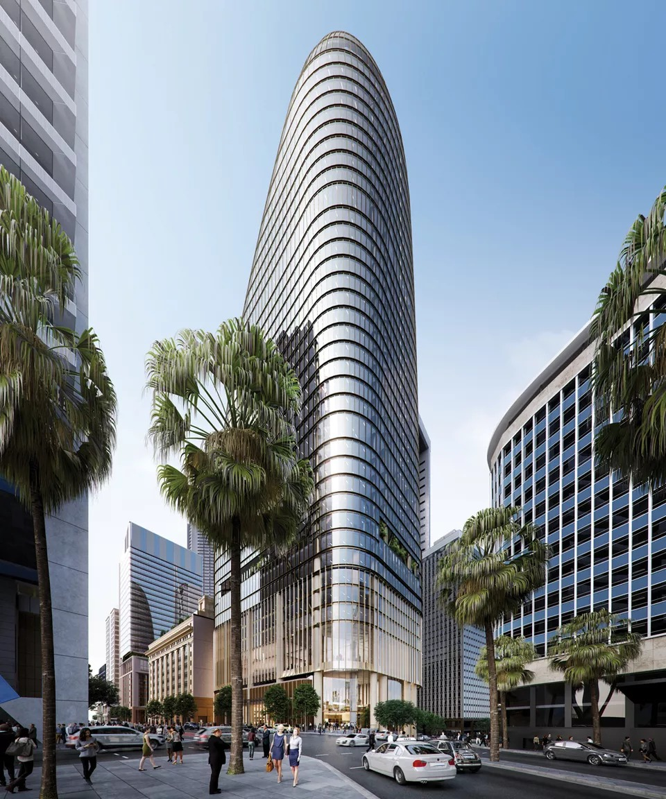 The $637 million Macquarie Group proposal has been designed by Grimshaw and Johnson Pilton Walker.