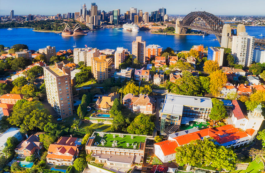 Real prices in Sydney and Melbourne have been falling at a faster rate than historical benchmarks.
