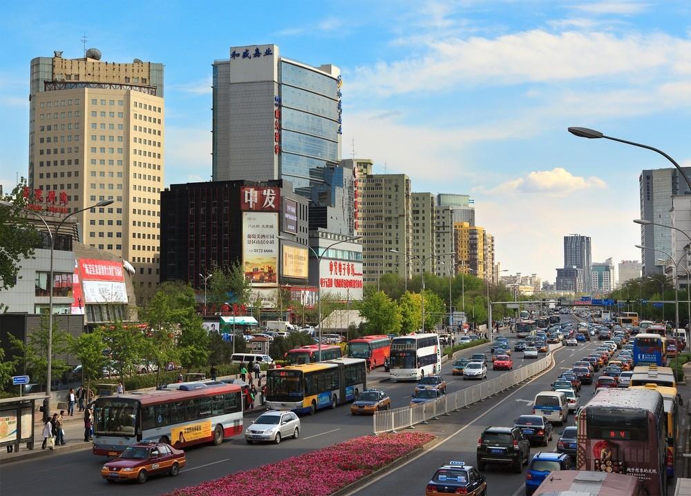 Zhongguancun - Beijing's tech hub.