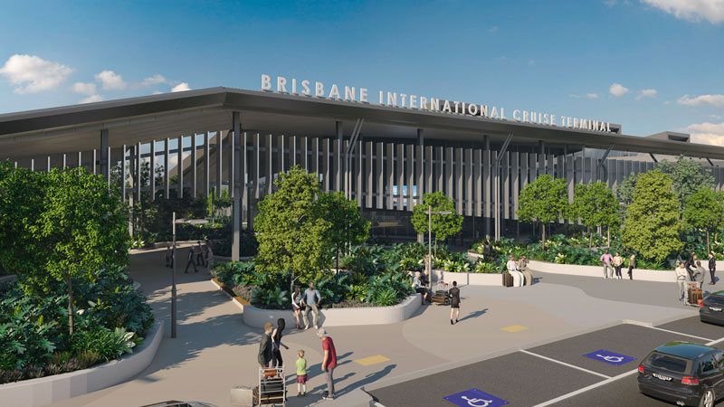 Brisbane Cruise Terminal major development project