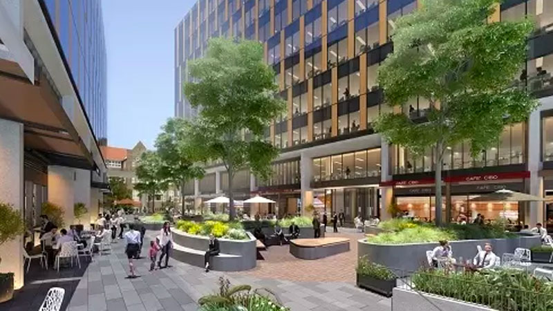 ▲ Richard Crookes Constructions has been appointed as the construction partner to deliver the Innovation Quarter precinct in partnership with Charter Hall and Western Sydney University. Image: Westmead Precinct