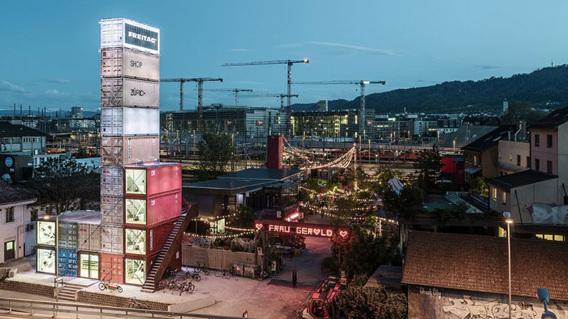 World's Tallest Shipping Container Building