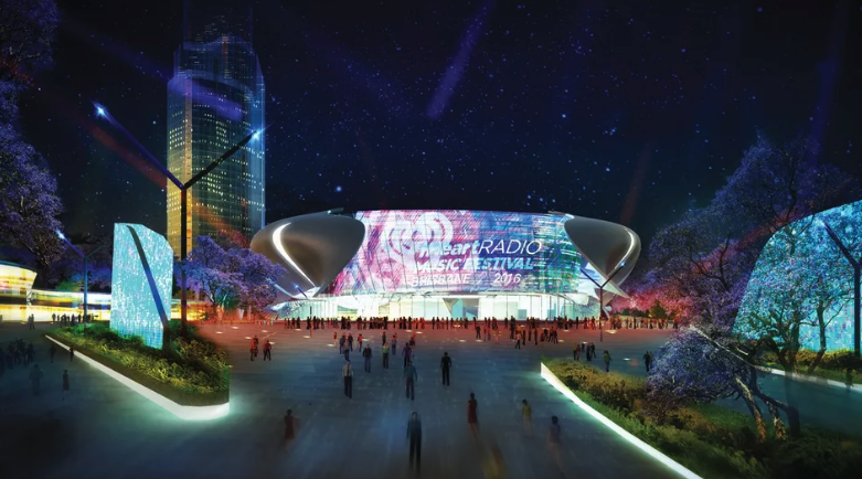 Plans for a 17,000-seat entertainment arena to be built above the new Roma Street underground station has received a boost from the Queensland government.