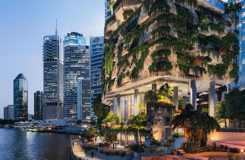 443 Queen Street CBUS Property development project Brisbane