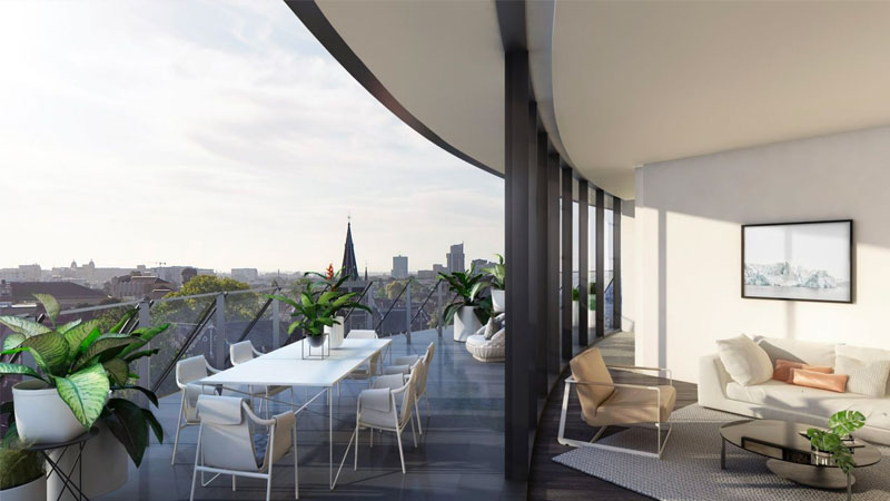 ▲ The long list of amenities at St Boulevard, which also features climate-controlled wine storage and private kitchens, has much to offer those living in older apartment buildings in and around the CBD. Image: Elenberg Fraser