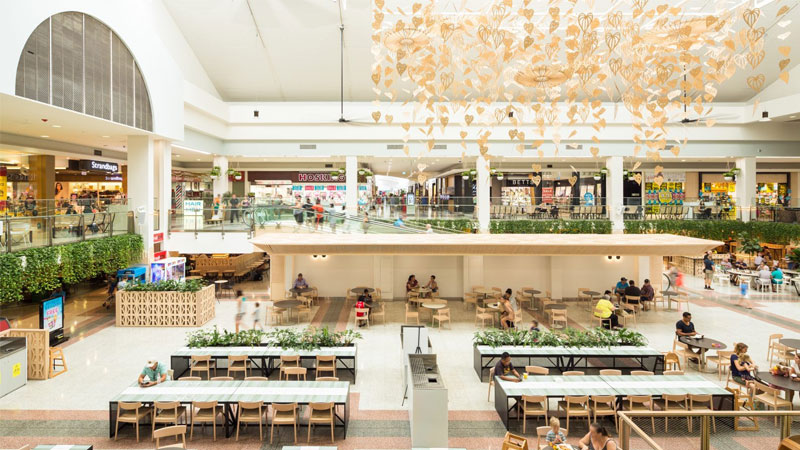 Image of GPT's Casuarina Square shopping centre, which suffered a 16.6 per cent decline in value, or $41.2 million.