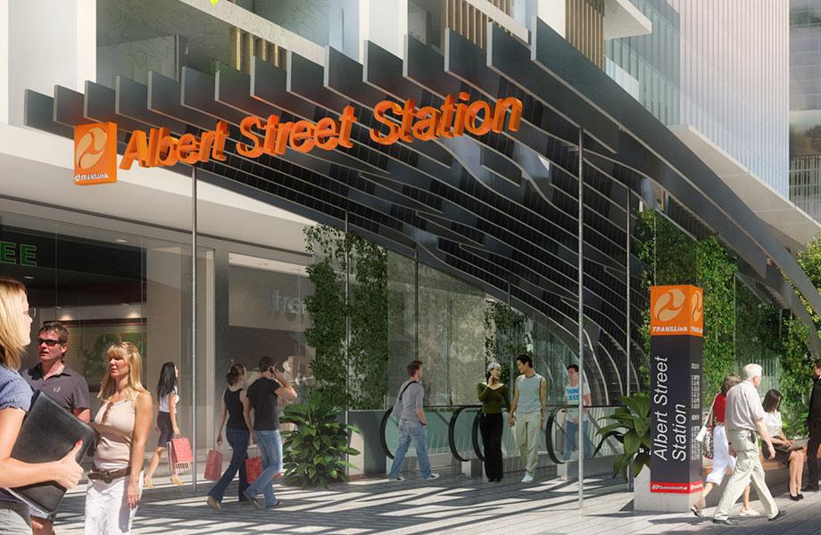 Albert Street Station.