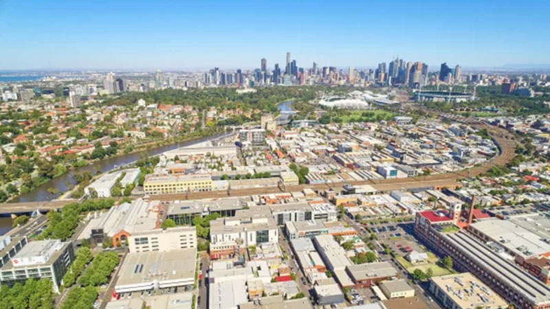▲ Once a grim industrial suburb along the banks of the Yarra river, Cremorne's former warehouses have become commercial offices for the likes of Tesla, Uber, the Walt Disney Company, Carsales.com.au and REA Group.