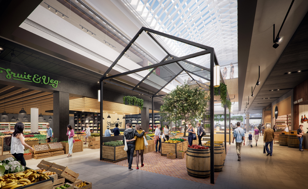 Food gallery adds to vicinity s retail offering at the glen