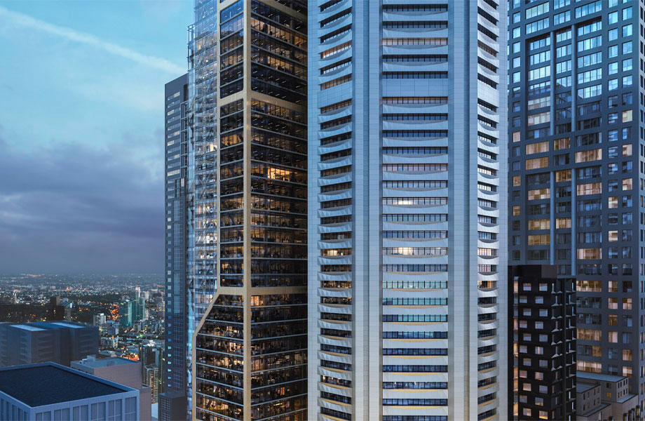Major Melbourne deals include this month's acquisition of the 80 Collins Street precinct by office giant Dexus for $1.476 billion.