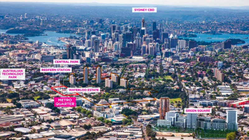 ▲ The significant Metro Quarter development has not been without its critics with local council questioning the number of social and affordable dwellings within the project, about 70 lots.