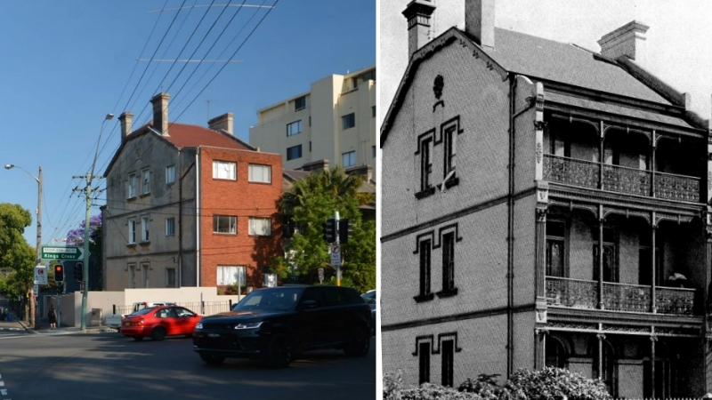 ▲ The development will see the removal of the non-original brick façade off the older building and a sculptural modern office added to the site.