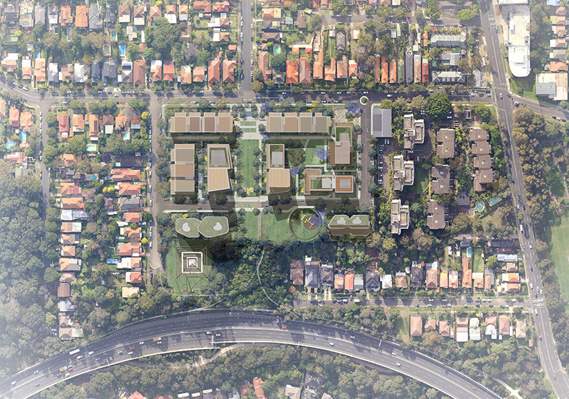The masterplan for Channel Nine's Willoughby site has received approval recommendation from the NSW Department of Planning , with an increase of ground floor area to 43,907sq m (+6,771sq m).