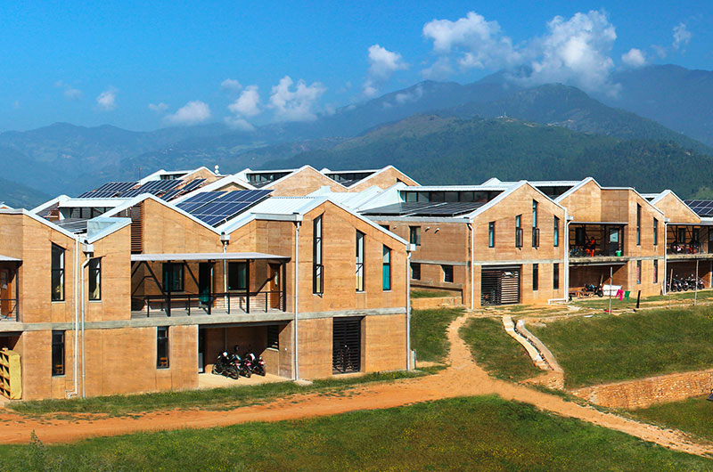 Completed Building Health: Sharon Davis Design - Bayalpata Regional Hospital, Achham, Nepal