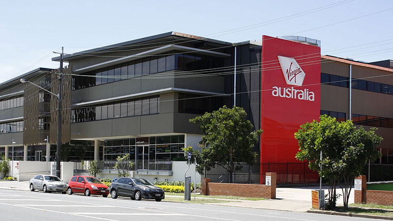 ▲ Virgin Australia's headquarters in Brisbane.