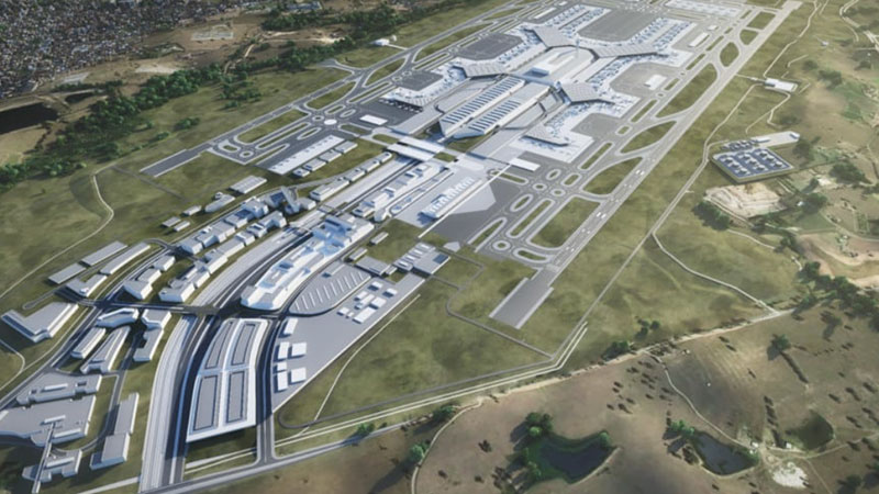 ▲ The land in question sits adjacent to the Western Sydney International (Nancy-Bird Walton) Western Sydney Airport site. It was valued at $3 million less than a year after being purchased for $29.8 million.