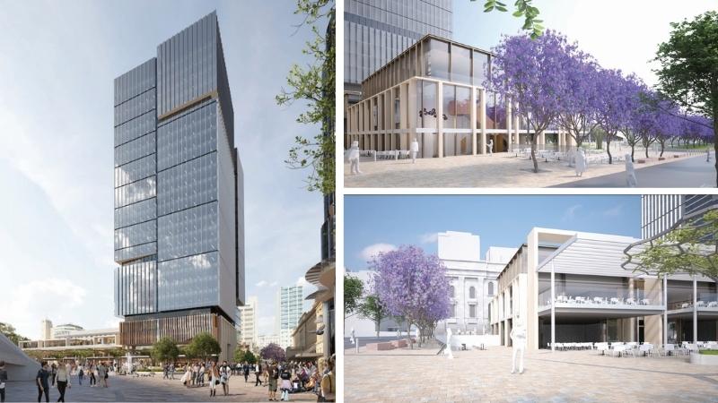 ▲ Walker Corporation's plans for Festival Square in Adelaide