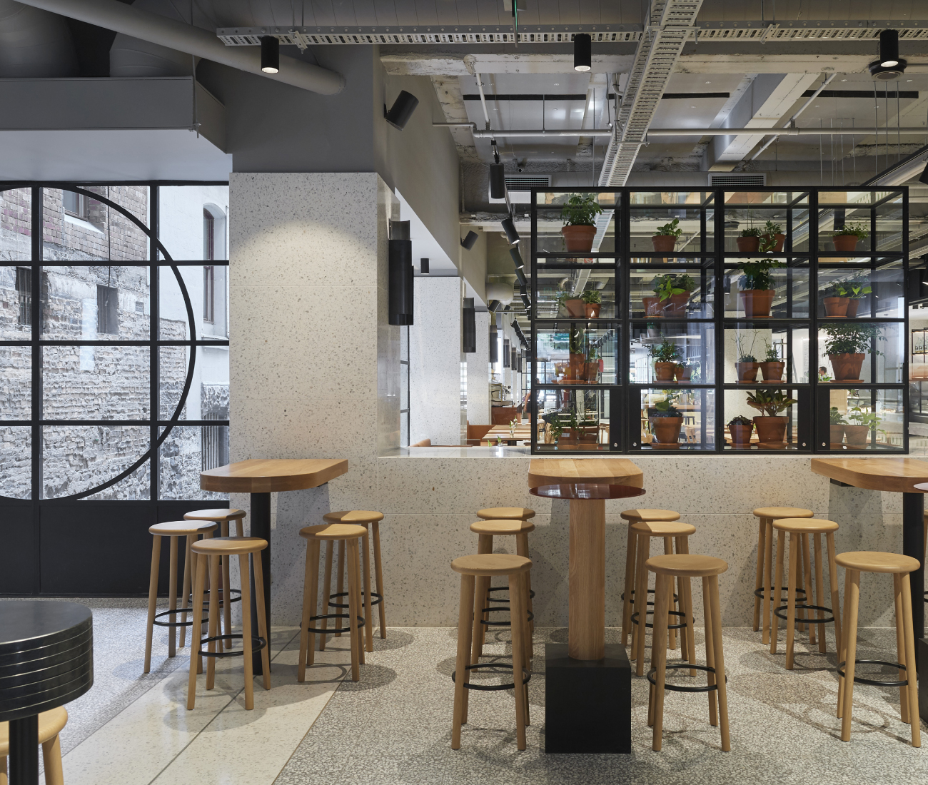 Technē Architecture + Interior Design for Brunetti Flinders Lane, Vic